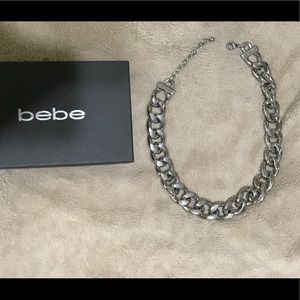 Bebe chainlink necklace